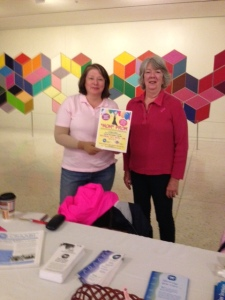 Maureen Evers and Judy Behrens